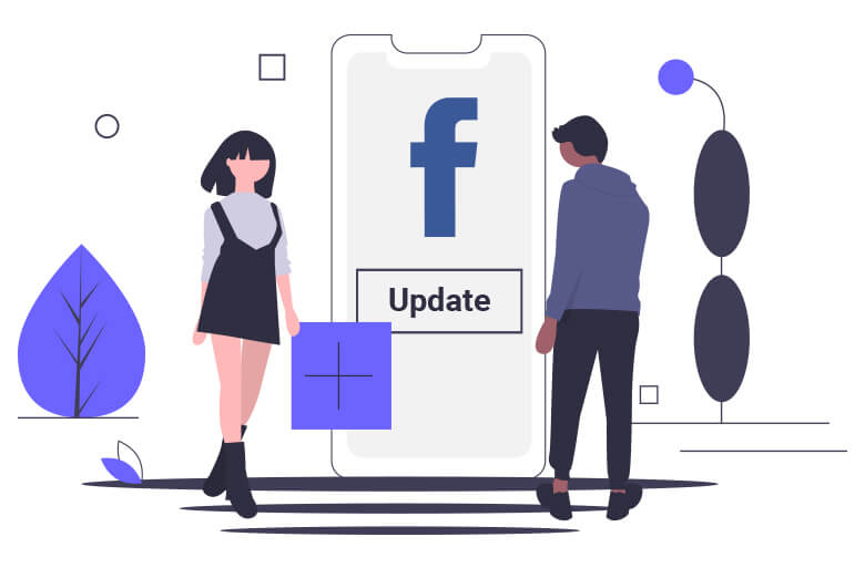 Facebook counterattacks with video updates
