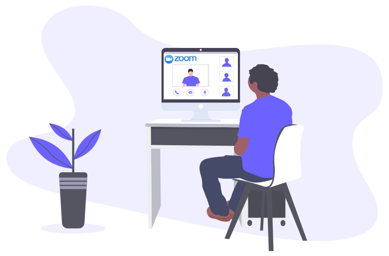 Zoom - one of the video calling solutions