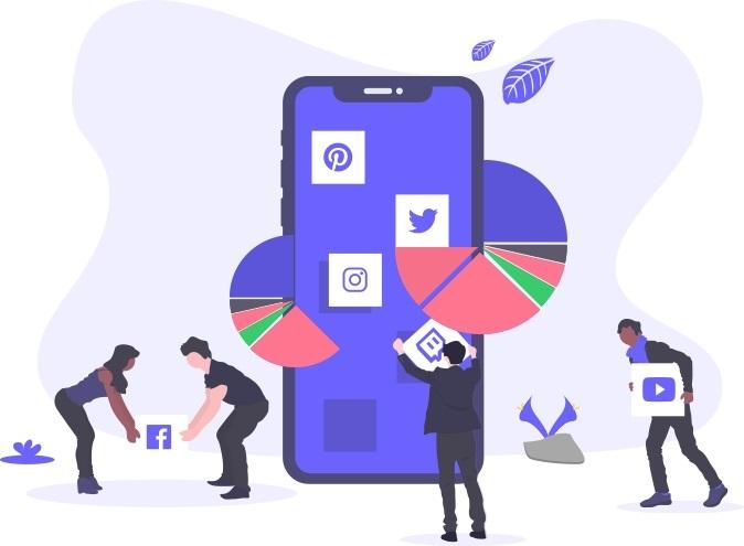 Facebook, Twitter and Telegram