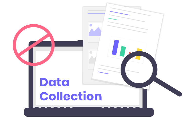 Privacy features against data collection