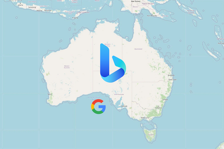 Bing to replace Google search in Australia