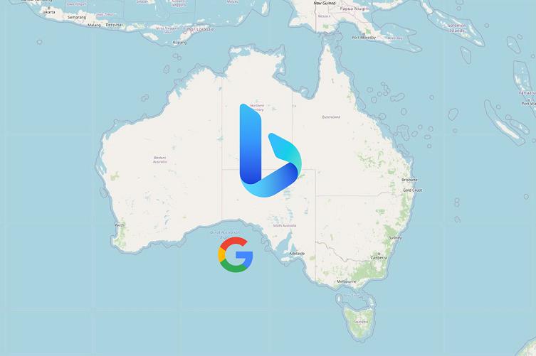 Bing to replace Google search in Australia