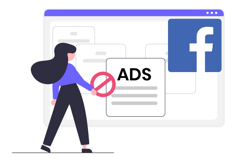 Block Facebook ads