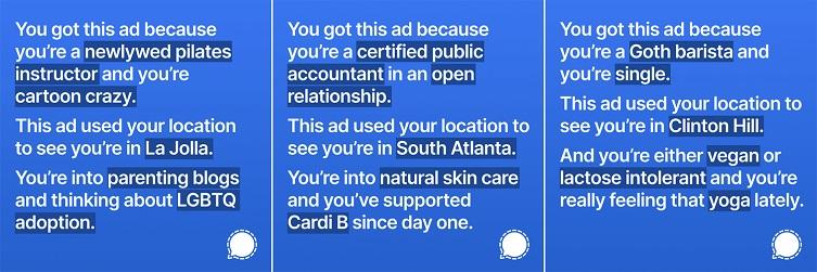 Signal ad campaign